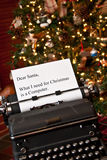 Note for Santa Stock Images