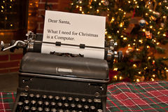 Note for Santa Royalty Free Stock Photo