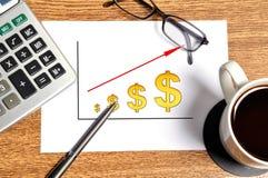 Note scheme profits Stock Photography