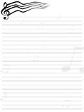 Note sheet of paper Royalty Free Stock Photo