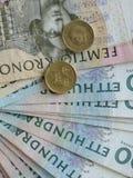Note svedesi di valuta Fotografia Stock