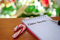 Note to Santa Stock Image