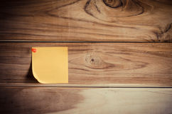 Note the yellow patch on a wooden board Royalty Free Stock Image