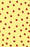 noteboks的果子苹果逗人喜爱的背景 库存例证