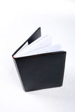 Notebook. The notebook with leather cover Royalty Free Stock Image