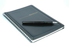 Notebook. And pen Royalty Free Stock Photo