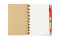 Free Notebook And Ballpoint Pen Royalty Free Stock Images - 27005049