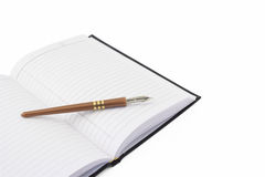 Free Notebook And Pen Royalty Free Stock Images - 8109709