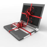 Notebook as gift Royalty Free Stock Images