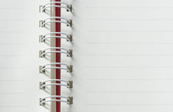 Notebook background Stock Images