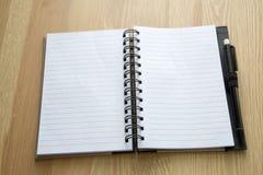 Notebook background Stock Image