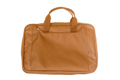 Notebook bag Royalty Free Stock Photography