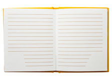 Notebook blank Stock Photography