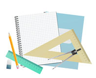 Notebook blank page Royalty Free Stock Photo