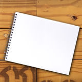 Notebook blank page Stock Image