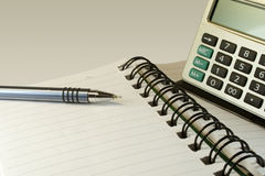 Notebook for businessman. Royalty Free Stock Image