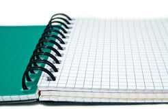 Notebook in a cell Royalty Free Stock Images