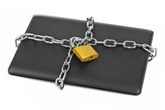Notebook and chains Stock Images
