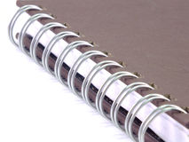 Notebook close up Royalty Free Stock Photo