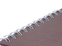 Notebook close up Stock Photos