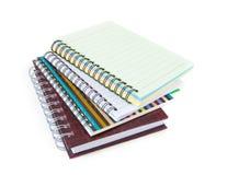Notebook collection Stock Photos
