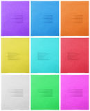 Notebook - colorful cover Stock Images