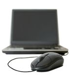 Notebook computer Royalty Free Stock Images