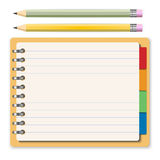 Notebook concept Stock Image