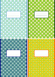 Notebook cover page Stock Images