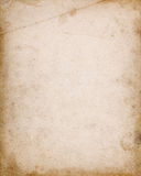 Notebook cover page with stains and dark borders. Old notebook cover page with stains, dark borders, dirt and folds Stock Images