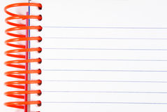 Notebook diary empty copy space Royalty Free Stock Images