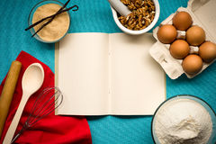 Free Notebook For Recipes Stock Photo - 52328140