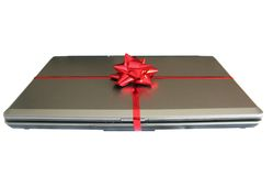 Notebook gift stock photography