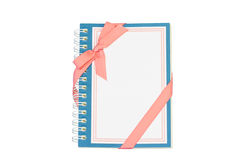 Notebook for gift Stock Images
