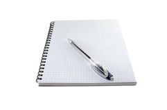 Notebook with the handle Royalty Free Stock Images