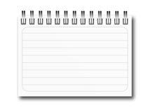 Notebook illustration Stock Photo