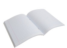 Notebook In A Line Stock Image