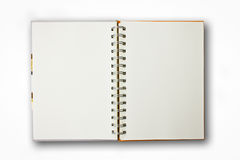 Notebook Isolated Royalty Free Stock Images