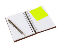 Notebook isolated Royalty Free Stock Photography