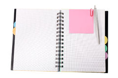 Notebook isolated Royalty Free Stock Photos
