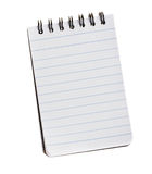 Notebook isolated Royalty Free Stock Image