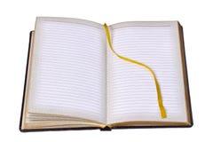 Notebook. Isolated on white background Royalty Free Stock Photo
