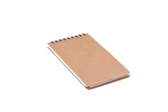 Notebook isolated on white Royalty Free Stock Image