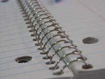 Notebook coils Stock Photos