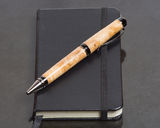Notebook or journal and pen Royalty Free Stock Photography