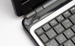 Notebook keypad, fragment Stock Photography