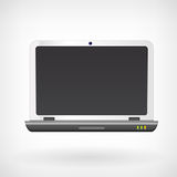 Notebook laptop computer vector icon. Isollated Vector Illustration