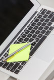 Notebook and laptop stock images