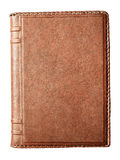 Notebook with leather cover Stock Photography