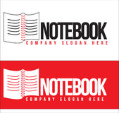 Notebook Logo Royalty Free Stock Photography